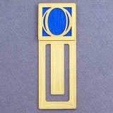 Monogram Letter O Engraved Bookmark