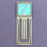 Monogram LetterZ Engraved Bookmark