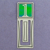 Number One Symbol Engraved Bookmark