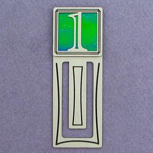 Number One Symbol Engraved Bookmark