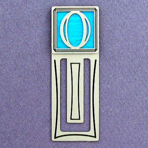 Number Zero Symbol Engraved Bookmark