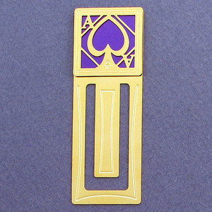 Ace Engraved Bookmark