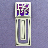 Hope Engraved Bookmark