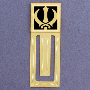 Sikh Engraved Bookmark
