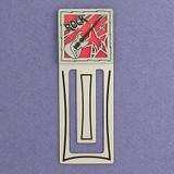Rock Music Engraved Bookmark