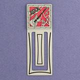 Rock Music Engraved Bookmark