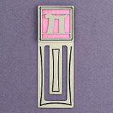 Pi Engraved Bookmark
