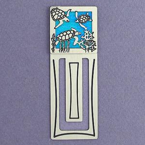 Sea Turtle Engraved Bookmark
