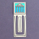 Ancient Building Engraved Bookmark