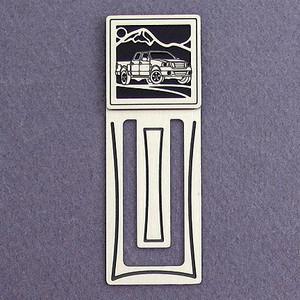 Pickup Truck Engraved Bookmark