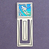 Surfer Engraved Bookmark