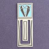 Tuxedo Engraved Bookmark