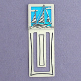 Sailboat Engraved Bookmark