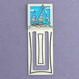 Sailboat Engraved Bookmark