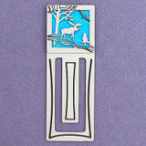 Moose Engraved Bookmark