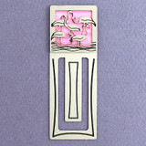 Flamingo Engraved Bookmark