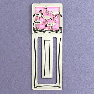 Flamingo Engraved Bookmark