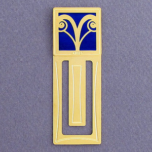Aries Engraved Bookmark