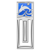 Dolphin Engraved Bookmark