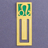Leo Engraved Bookmarks
