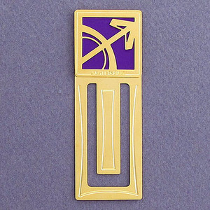 Sagittarius Engraved Bookmark