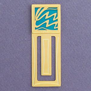 Aquarius Engraved Bookmark