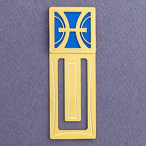 Pisces Engraved Bookmark