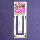 LVN Nurse Engraved Bookmark