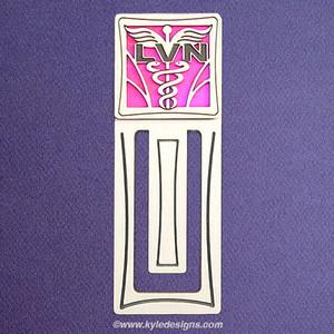 LVN Nurse Engraved Bookmark