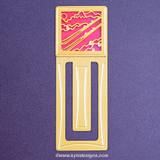 Ski Engraved Bookmark