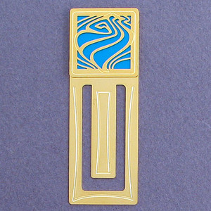Shell Engraved Bookmark