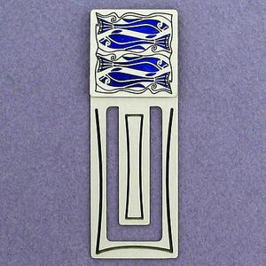 Aquarium Fish Engraved Bookmark