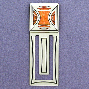Retro Modern Engraved Bookmarks