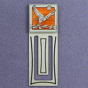 Falcon Engraved Bookmark