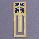 Christian Cross Engraved Bookmark