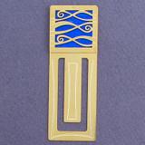 Ribbony Waves Engraved Bookmark