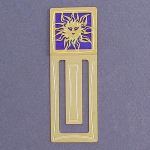 Sun Engraved Bookmark