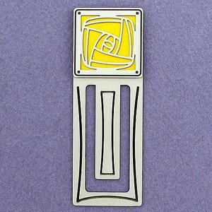 Craftsman Rose Engraved Bookmark