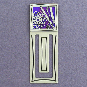 Crochet Engraved Bookmark