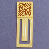 Animal Stripe Engraved Bookmark