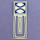 Baseball Engraved Bookmark