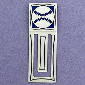 Baseball Engraved Bookmark
