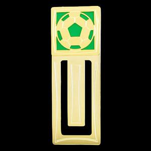 Soccer Engraved Bookmark