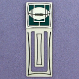 Football Engraved Bookmark