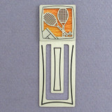 Tennis Engraved Bookmark