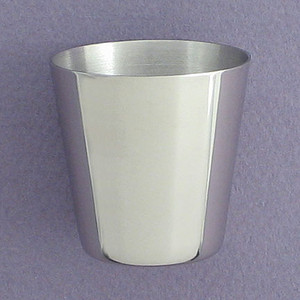 1 Oz. Stainless Steel Cup for Flasks