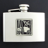 Panda Liquor Flasks 4 Oz