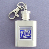 Camera Keychain Flask