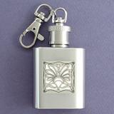 Lifeguard Key Chain Flask
