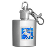 Mystical Unicorns Key Chain Flask